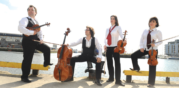 The Contempo Quartet Sligo Concert