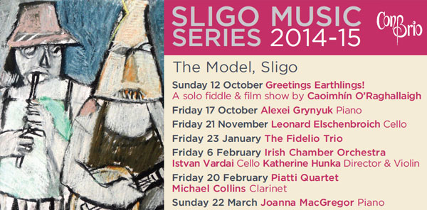 SLIGO MUSIC SERIES 2014-2015