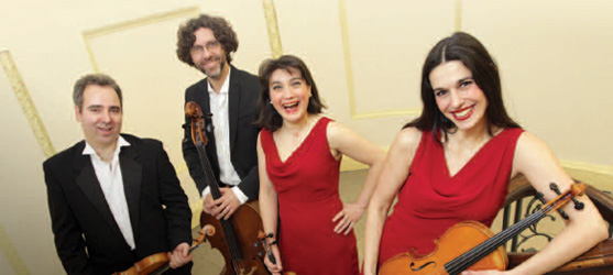 Beethoven and the Ladies! <br>RTÉ Contempo Quartet