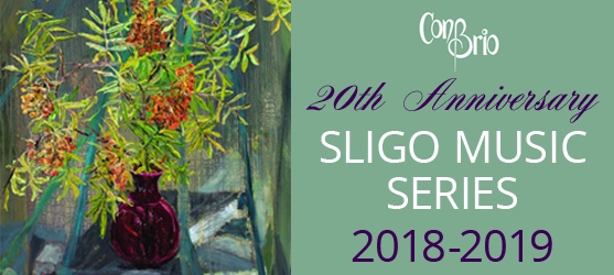 Welcome to the 20th Anniversary, Sligo Music Series 2018-2019